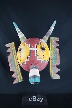 14# Antique Kachina MASK HOPI, Native American, EMPTY INSIDE, great carving