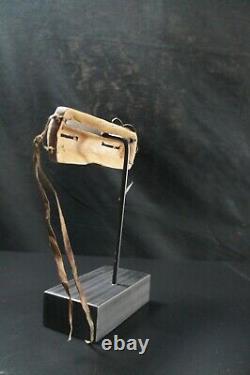 165# Antique Alaskan Native Wooden INUIT Googles