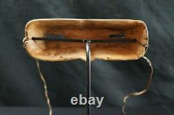 169# Antique Alaskan Native Wooden INUIT Googles