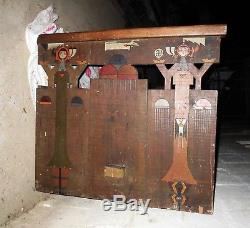 1800s Carved BY NAVAJO AMERICAN INDIAN WILD WEST RAILROAD TRAIN Furniture