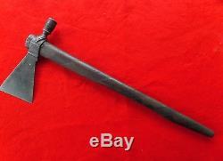 1831 Hudson's Bay Company Indian Tomahawk Pipe Iron Axe artifact Native American