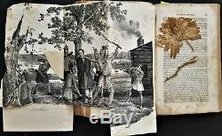 1841 antique NATIVE AMERICAN INDIAN HISTORY origin spirits massacre dance court