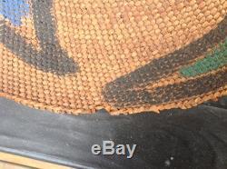 1870-1890 Northwest Coast Spruce Root Tlingit Hat Untouched