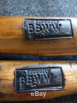 1880 Buffalo Bill Wild West Tomahawk Props Used By Cast Members Marked Numbered