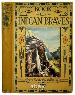1913 Antique INDIAN WAR CHIEFS Native American Biography SITTING BULL Sioux US