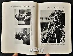 1928 antique NATIVE AMERICAN INDIAN Wampanoag-Masachusett & Nauset 152pg w MAP
