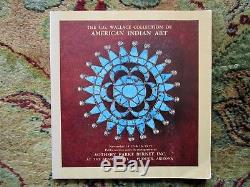 1975 C. G. WALLACE COLLECTION of AMERICAN INDIAN ART Sotheby Auction Catalog RARE