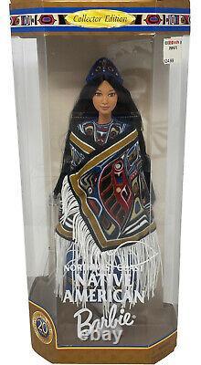 1999 Barbie Northwest Coast Native American Dolls of the World Mattel Box Wear