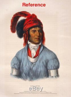 19th Century Native American Antique Gorget