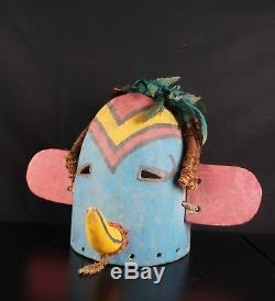 22# Antique Kachina Small Mask Native American, HOPI, From 60/70s