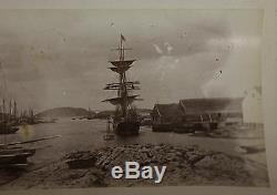 30 RARE Important Daniel Talbot Labrador Inuit Eskimo Photographs, NR