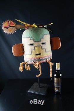 43# Antique Kachina HELMET Hopi Native American