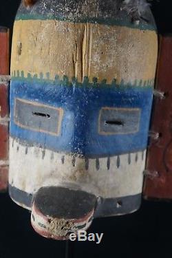 49# Antique Kachina MASK HOPI, Native American