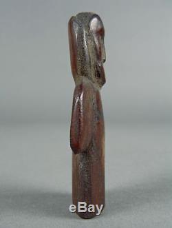 500-5000+yrs BERING STRAIT Inuit Eskimo Native FOSSIL CARIBOU BONE Human Figure