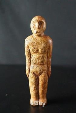 65# OLD! Archaic Eskimo, Maybe Thule Fossil Statuette Ancient INUIT