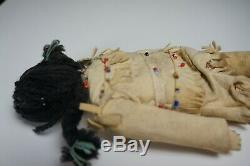 93# Antique Plain Indian DOLL Early 20th Century Native American