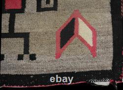 A Vintage Native American Ganado Navajo Rug