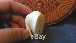 Alaska, Alaskan, Inuit, Eskimo Hand Carved Of A Walrus Head
