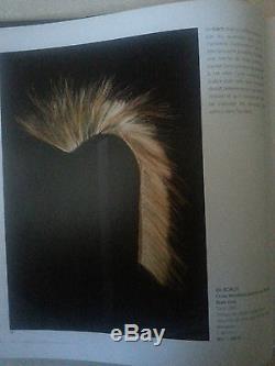 ANTIQUE Blackfoot Indian ROACH Headdress -Indian Wars -19th century