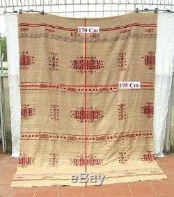 Antique Vintage Native American Indian Rug Blanket
