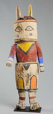 Amazing Large Articulated arm Hopi Indian Katsina Kachina Doll Native american