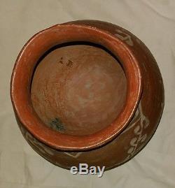 Antique 19th Century Native America Tarahumara Indian Large Water Bowl