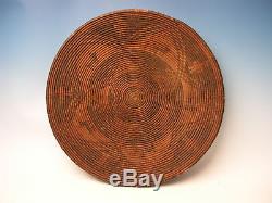 Antique American Apache Indian Wedding Basket Tray