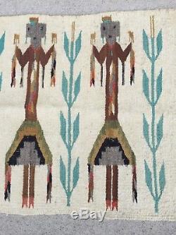 Antique And Vintage Native American Navajo Indian Rug Blanket Weaving