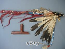 Antique Ceremonial Calumet Pipe of Northern Cheyenne Chief Dull Knife ca. 1840