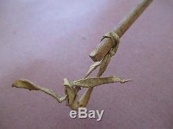 Antique Chippewa Midewiwin Society Birch Bark Rattle