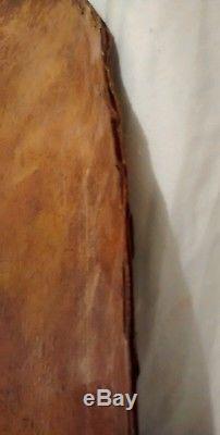 Antique Circa Late 1800's Native American Plains Indian Rawhide War Shield