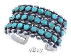 Antique Collection, Navajo Number 8 Turquoise Row Bracelet, Circa 1950s