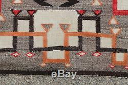 Antique Early 20thC Western American Indian Hand Woven Wool Rug, NR