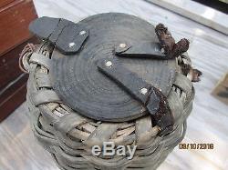 Antique Eel Basket Shinnecock Indians Long Island New York