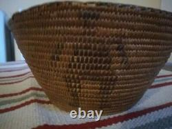 Antique Figural Tight Weave Native American Basket