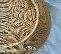 Antique First Nations Native American Indian Coiled Basket Apache Pima 1900's
