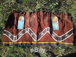 Antique Hopi Indian snake Dance Leather Kilt Kachina Dance