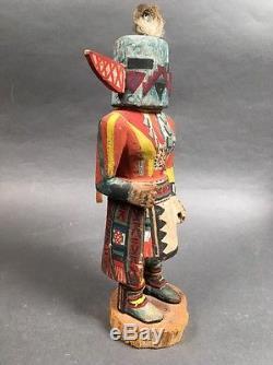 Antique Hopi Katsina Katchina Doll 10.5 Native American Indian
