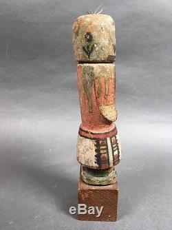 Antique Hopi Katsina Katchina Doll 7 Witho Base Native American Indian