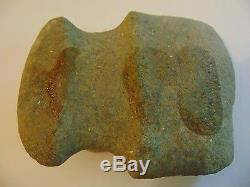 Antique INDIAN ARTIFACT Native American STONE AXE Head 23 of 24 axe head