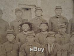 Antique Indians At Fort Marion Fl Fort Sill Cheyenne Rare Early Stereoview Photo