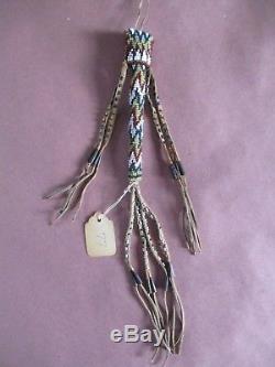 Antique Kiowa Apache Beaded Awl Case