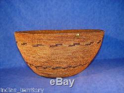 Antique Mission Indian Basket c. 1880