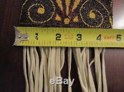 Antique Native American Beaded Pipe Bag (Great Lakes)