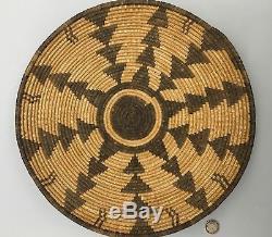 Antique Native American Indian (Western Apache Yavapai) Basket Early 1900s