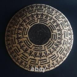 Antique Native American Pima Basket 13x1.5Collectable