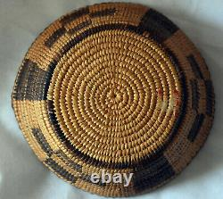 Antique Native American Pima Basket 5 1/2X 1 1/2