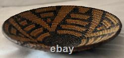 Antique Native American Pima Basket 6 1/2X 1 1/4