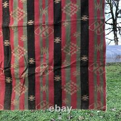 Antique Native American Textile Fabric Blanket 1900s-1920s
