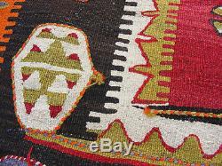 Antique Navajo Kilim Rug Blanket Hand Made